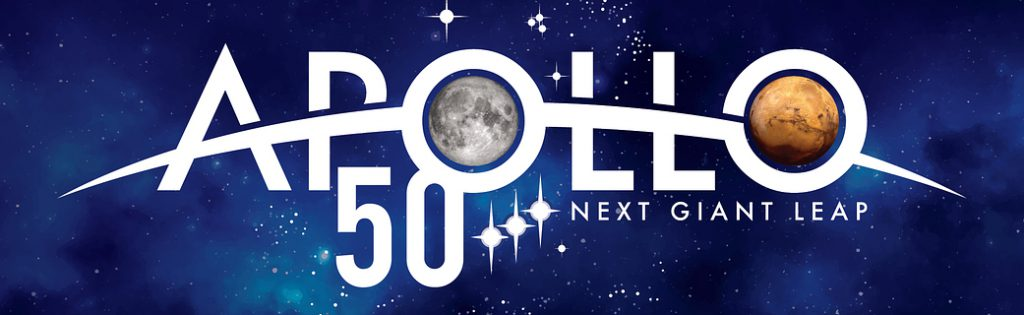 Joining NASA in celebrating the 50th Anniversary of the Apollo Program